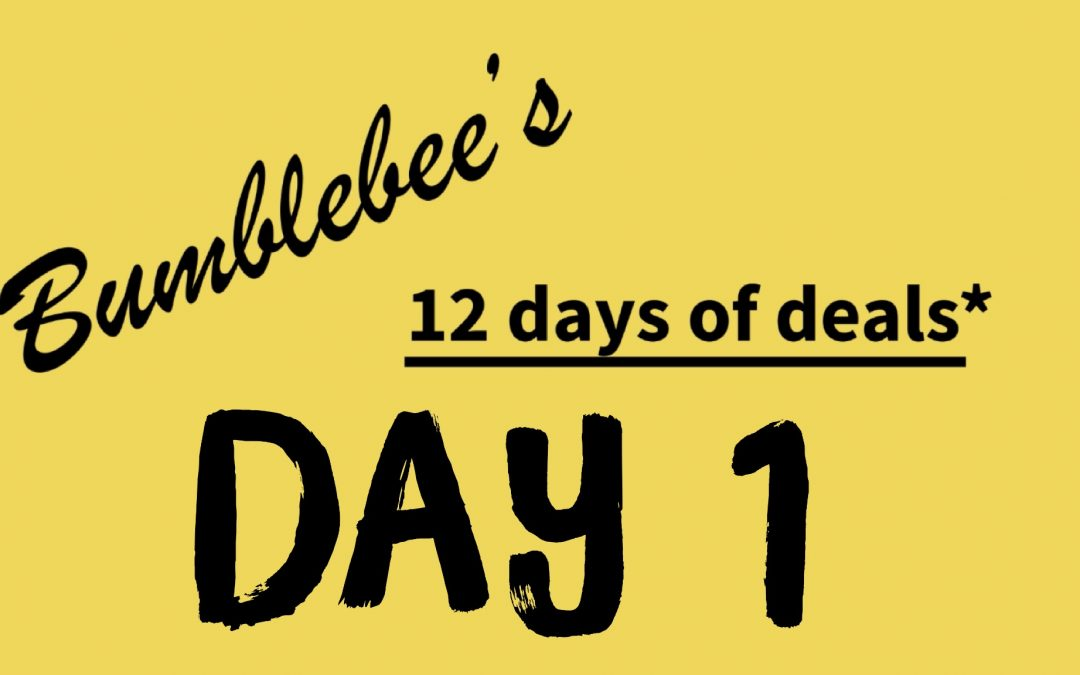 Day 1 of 12 Days of Deals